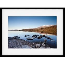 Coniston Shore Framed print