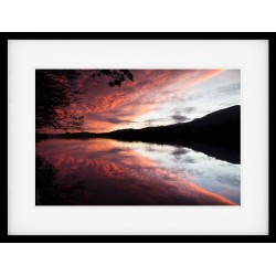 Coniston Sunset Framed Print