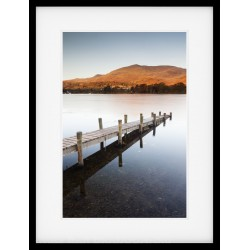 Coniston Contrast Framed print