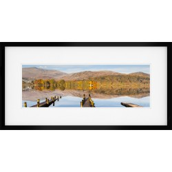 Coniston Panorama Framed Print