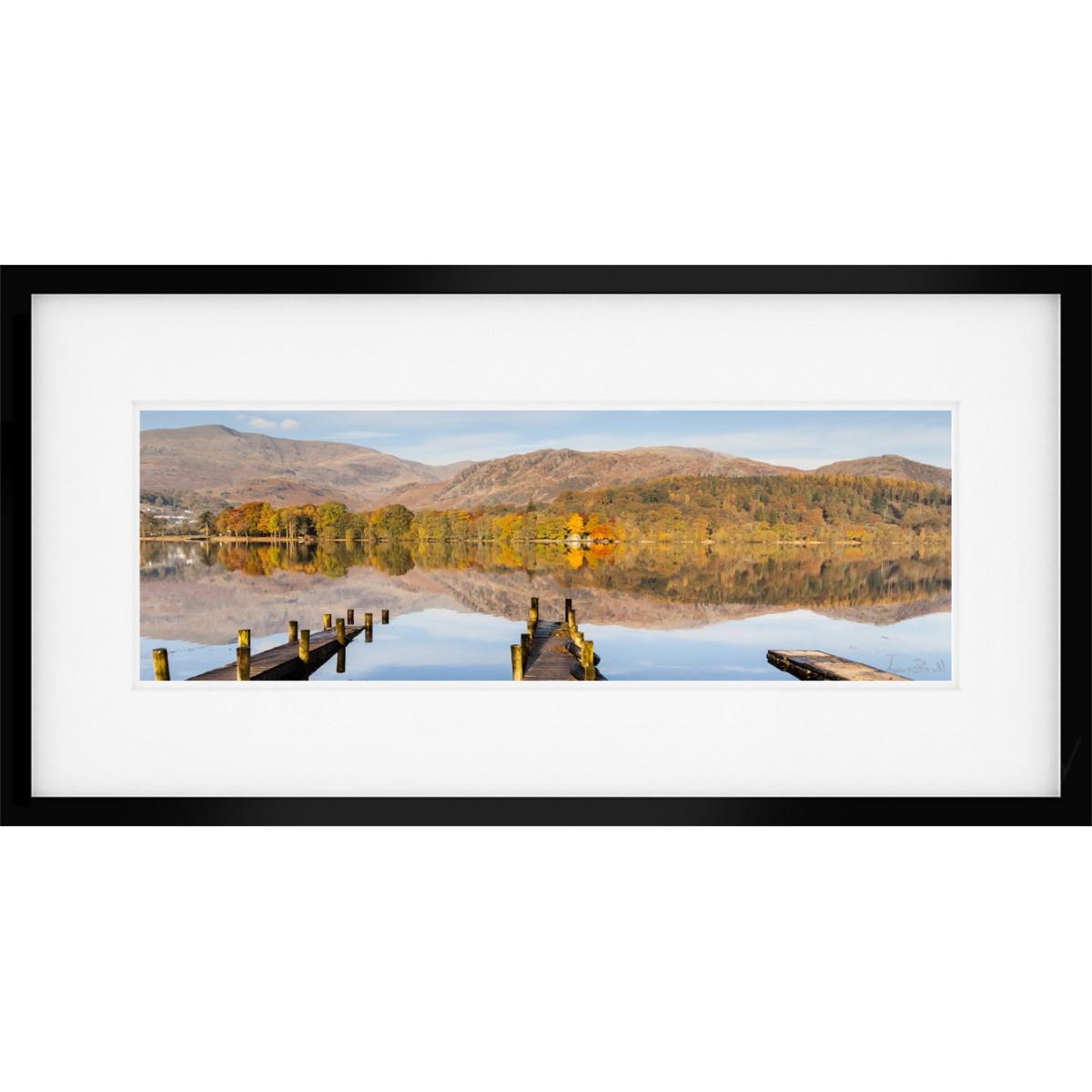 Coniston Panorama Framed Print