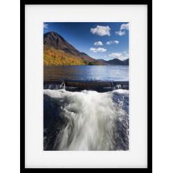 Crummock Water Weir Framed Print