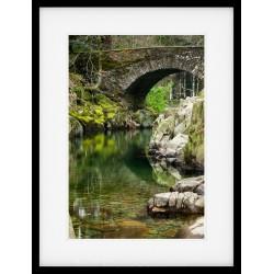 Eskdale Bridge Framed print