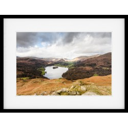 Grasmere from Loughrigg Framed Print