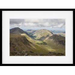 The Ennerdale Valley Framed print