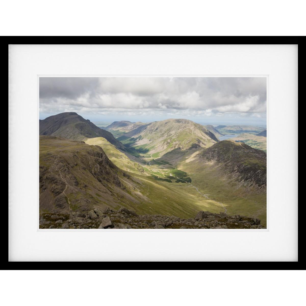 The Ennerdale Valley Framed print