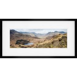 Little Langdale Wide Framed print
