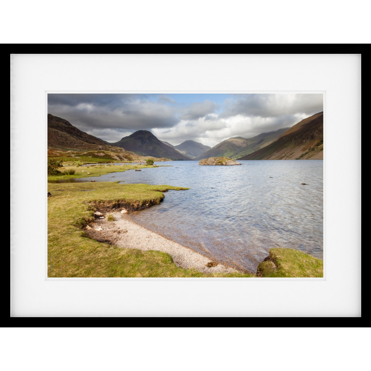 August at Wastwater Framed Print