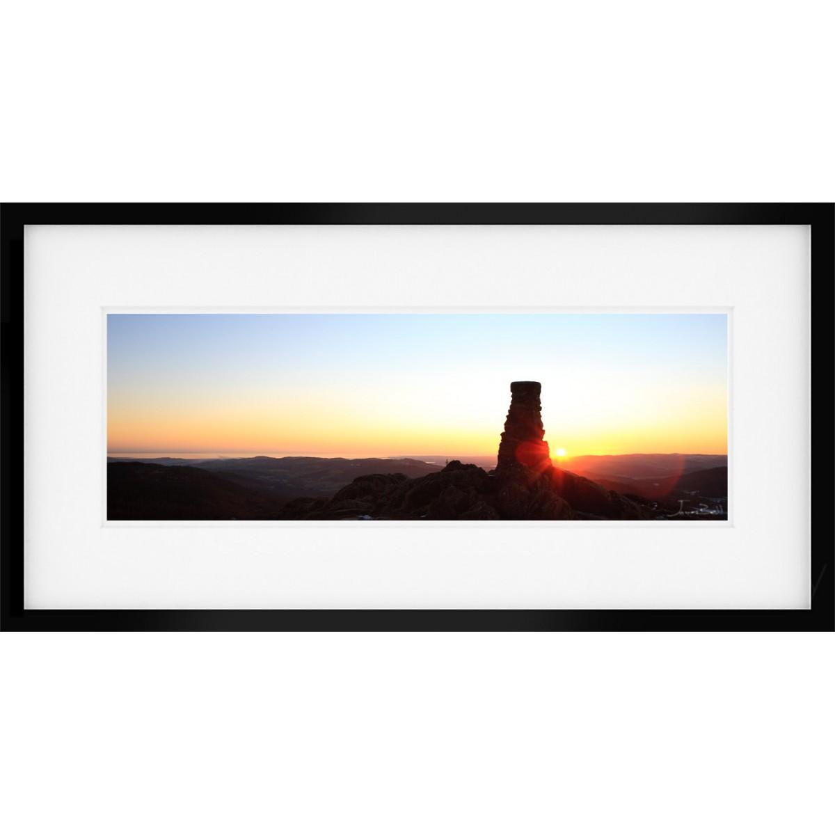 Gummer How View Framed Print