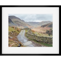 Kentmere Valley Landscape Framed Print