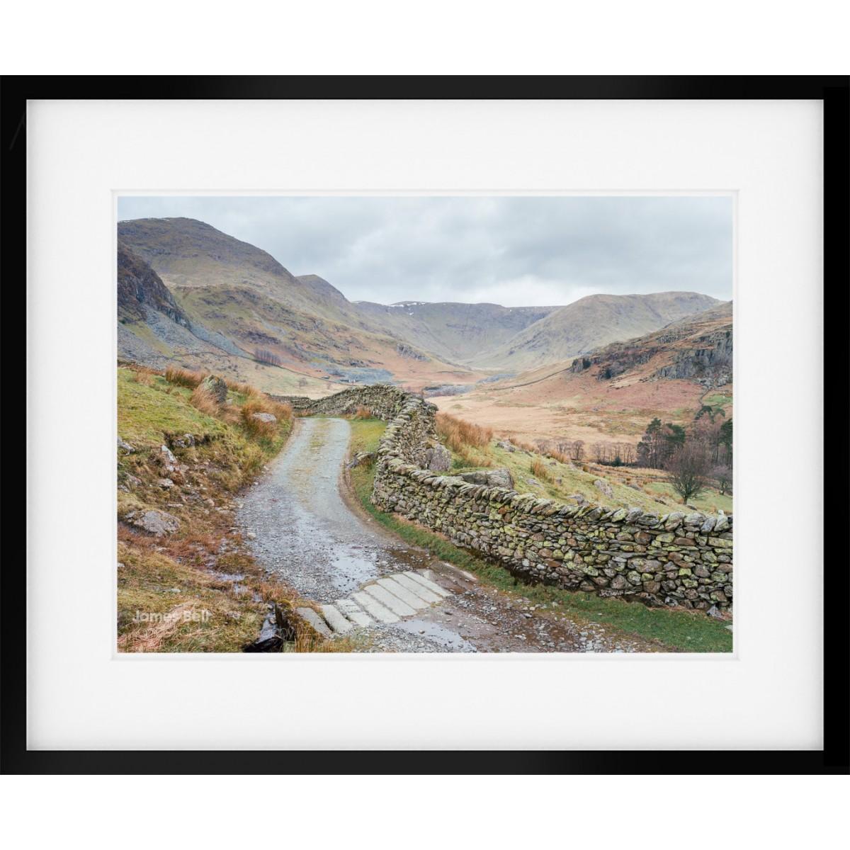 Kentmere Valley Landscape Framed Print