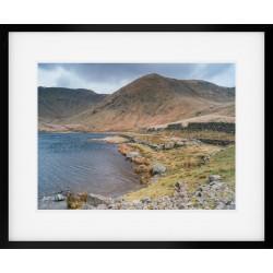 Kentmere Reservoir Landscape Framed Print