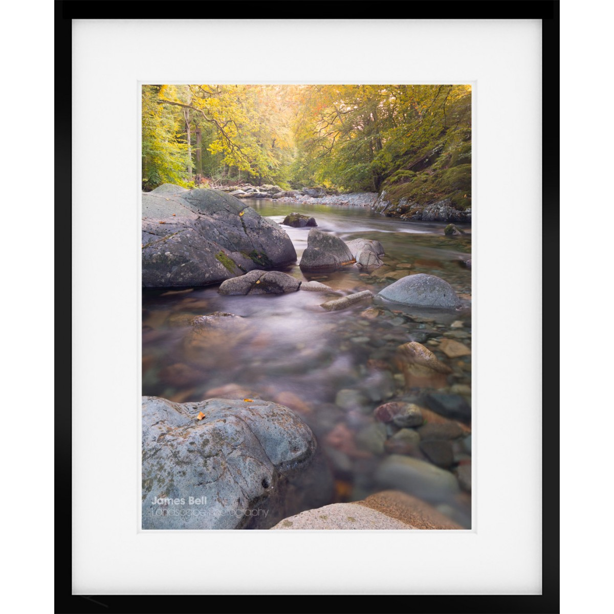 Framed Print of the River Eskdale in the Eskdale Valley Lake District.