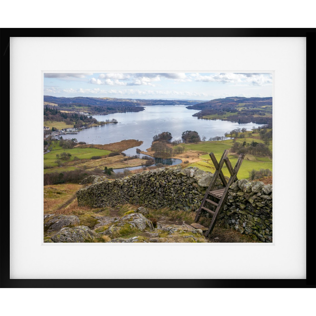 Loughrigg View Framed Print