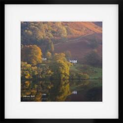 Loughrigg Window framed print