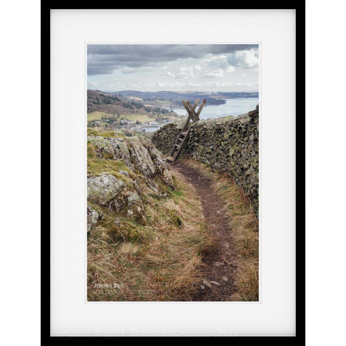 Loughrigg Path Framed Print