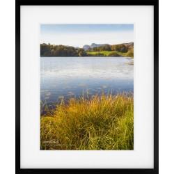 Loughrigg Tarn Portrait Framed print
