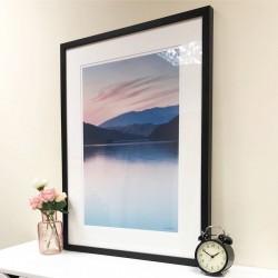 Blencathra Glow framed print