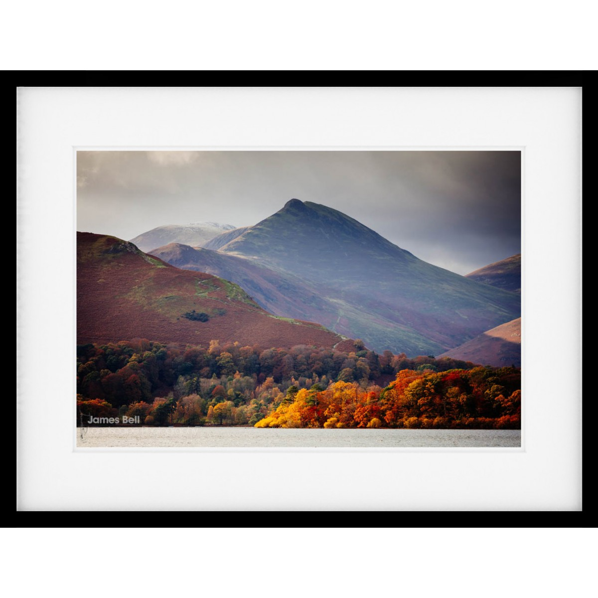 Causey Pike Autumn Framed Print