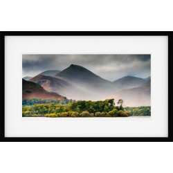 Causey Pike over Derwentwater Framed Print