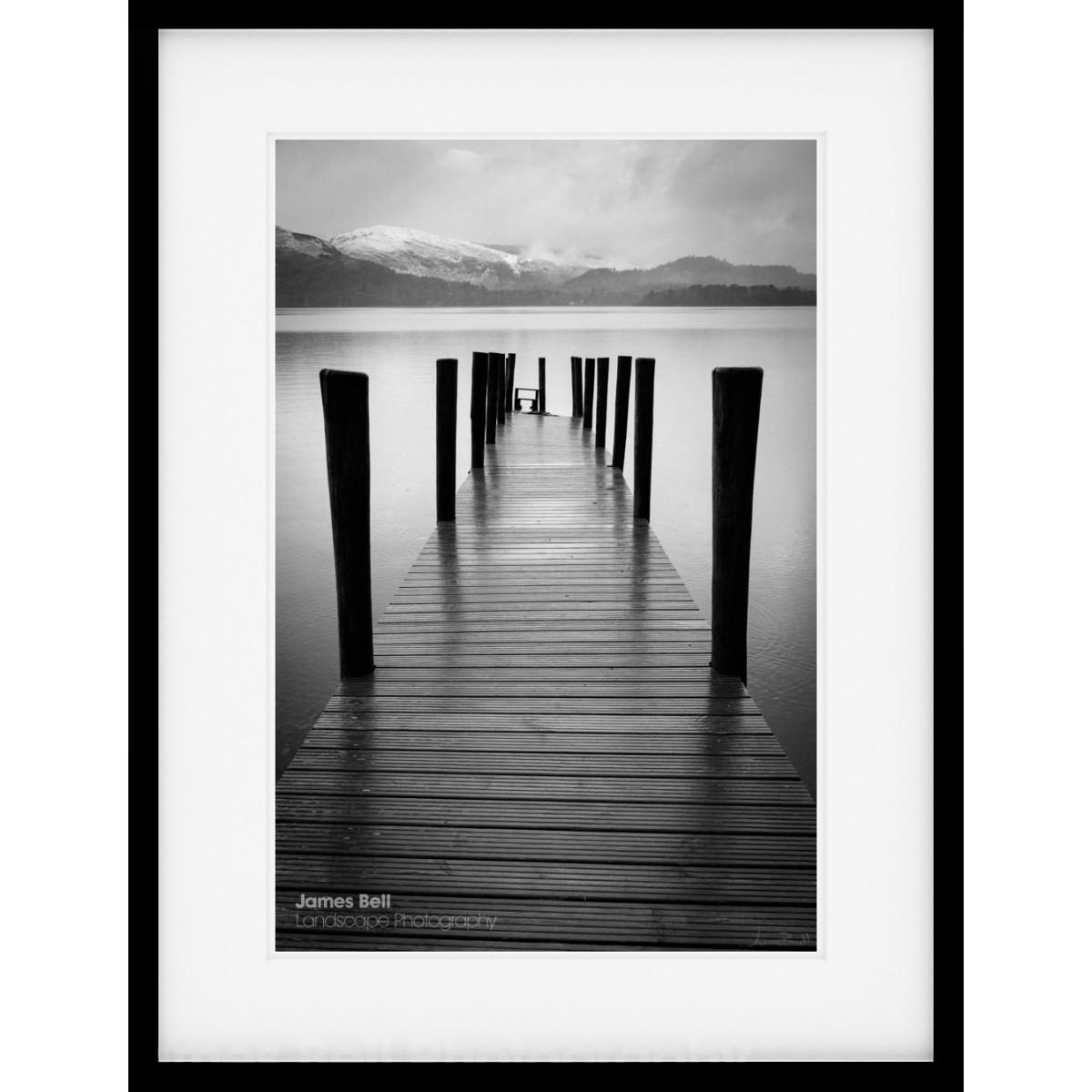 Ashness Jetty on Derwentwater framed print