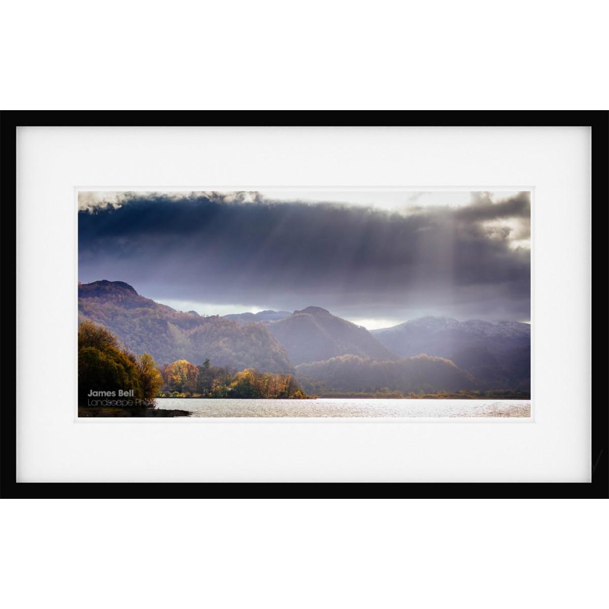Borrowdale Autumn Light framed print