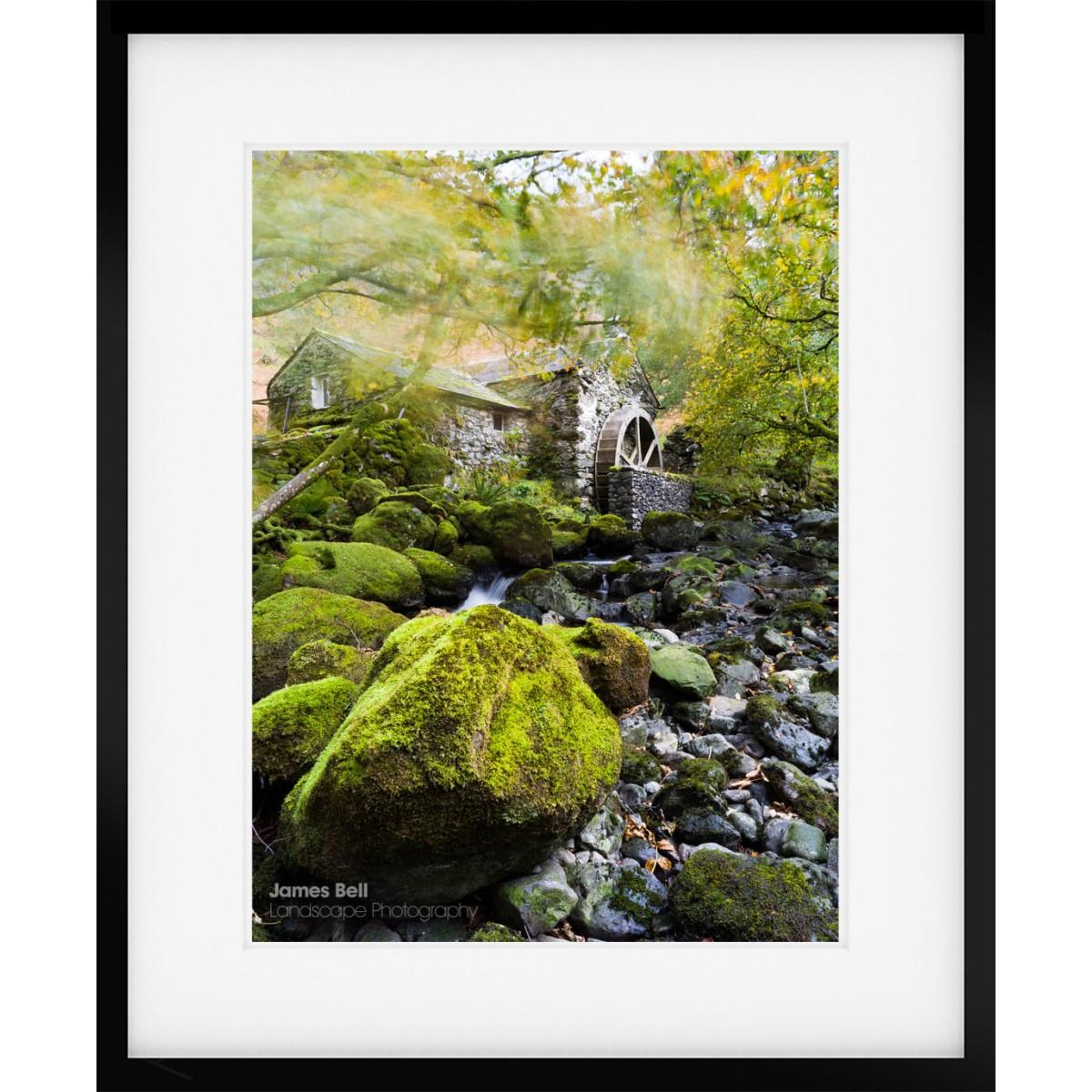 Borrowdale Mill framed print