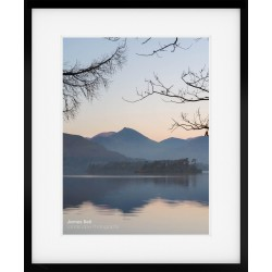 Causey Pike Sunset framed print