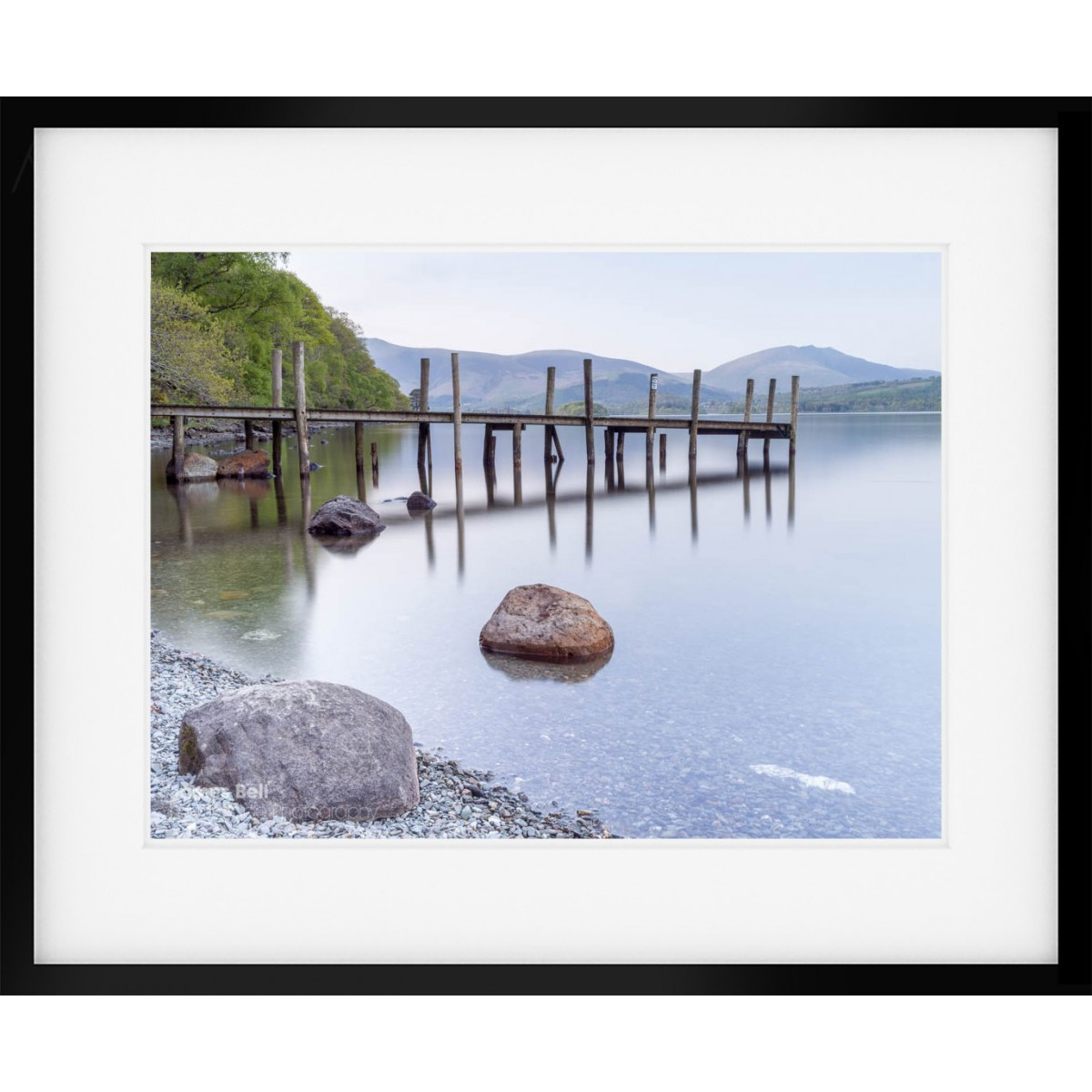 Brandelhow Bay Jetty Framed Print