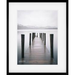Subtle Jetty Framed Print