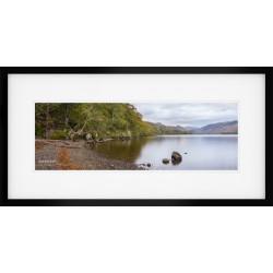 Borrowdale Autumn Vista framed print