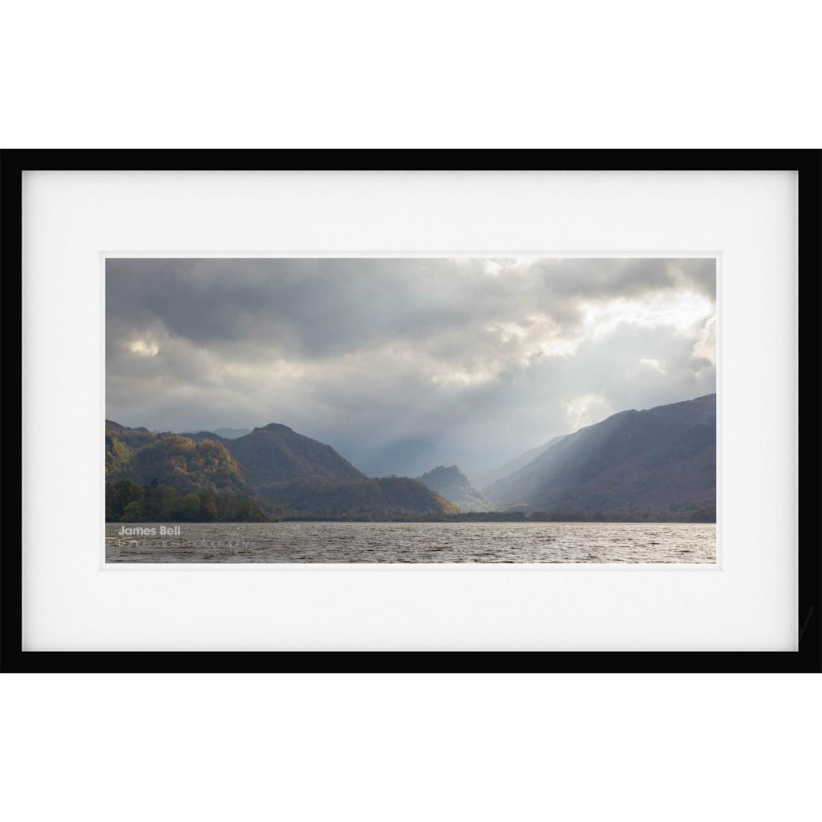 Borrowdale Illumination framed print