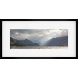 Borrowdale Panorama framed print