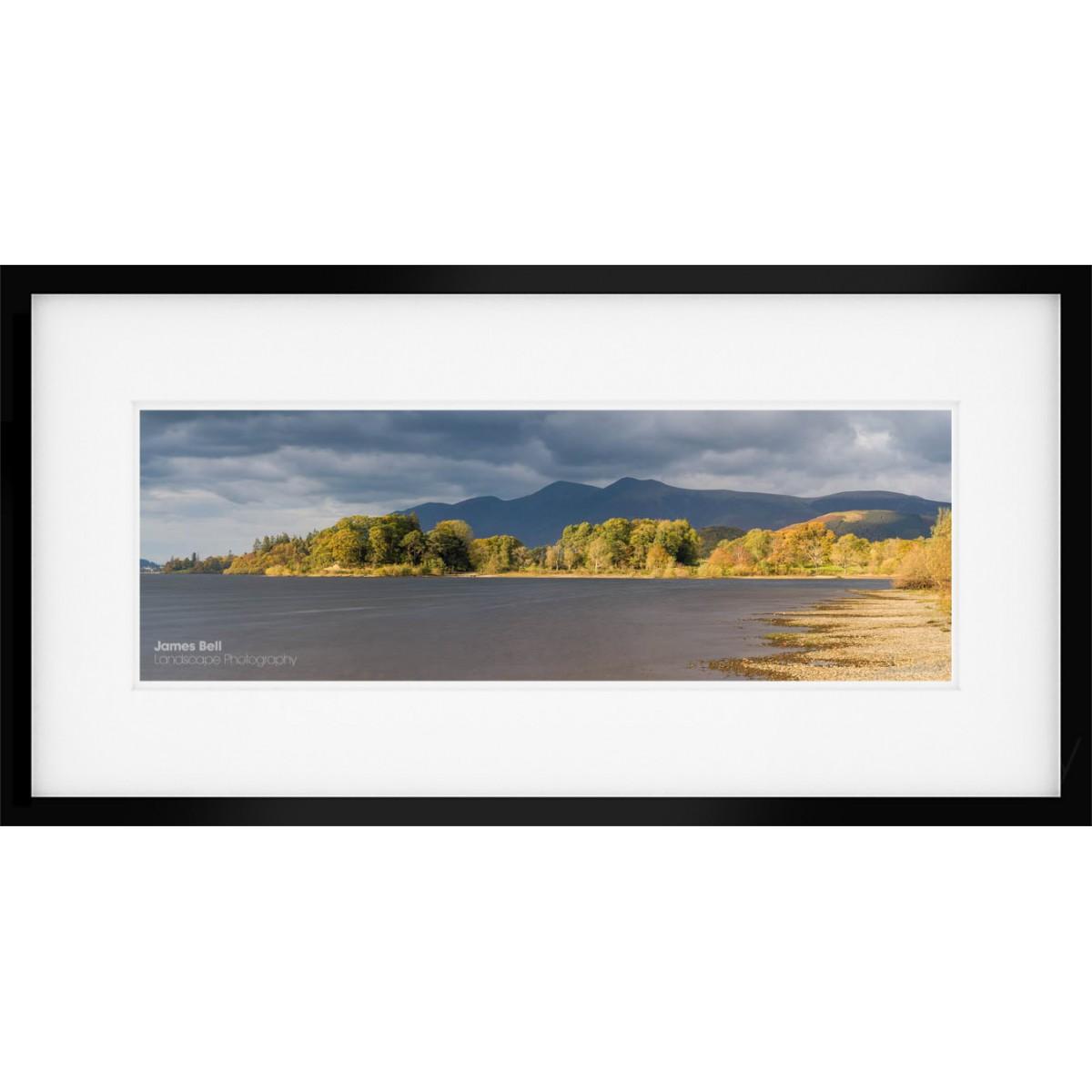 Skiddaw Panorama framed print