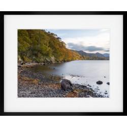 Autumn into Borrowdale framed print