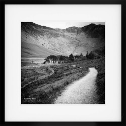 Buttermere Path framed print