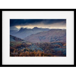 Holme Fell View framed print