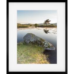 Kelly Hall Tarn framed print
