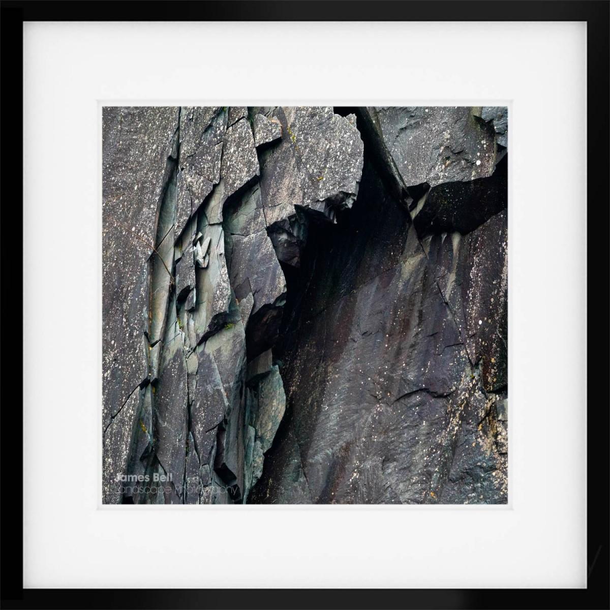 Lakeland Slate framed print