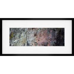 Slaters Heart framed print