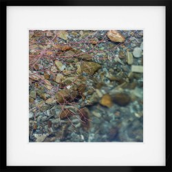Coniston Jewels framed print