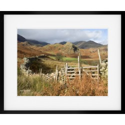The Bell Coniston Framed print