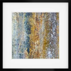 Tilberthwaite Texture framed print