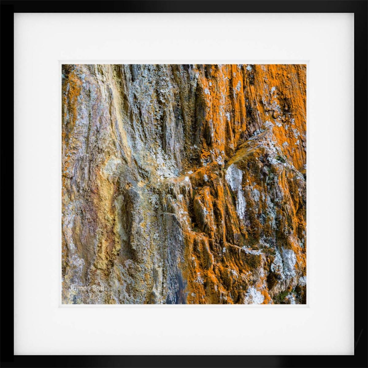 Tilberthwaite Texture II framed print
