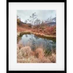 Holme Fell Tarn framed print