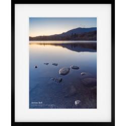 Coniston Twilight framed print