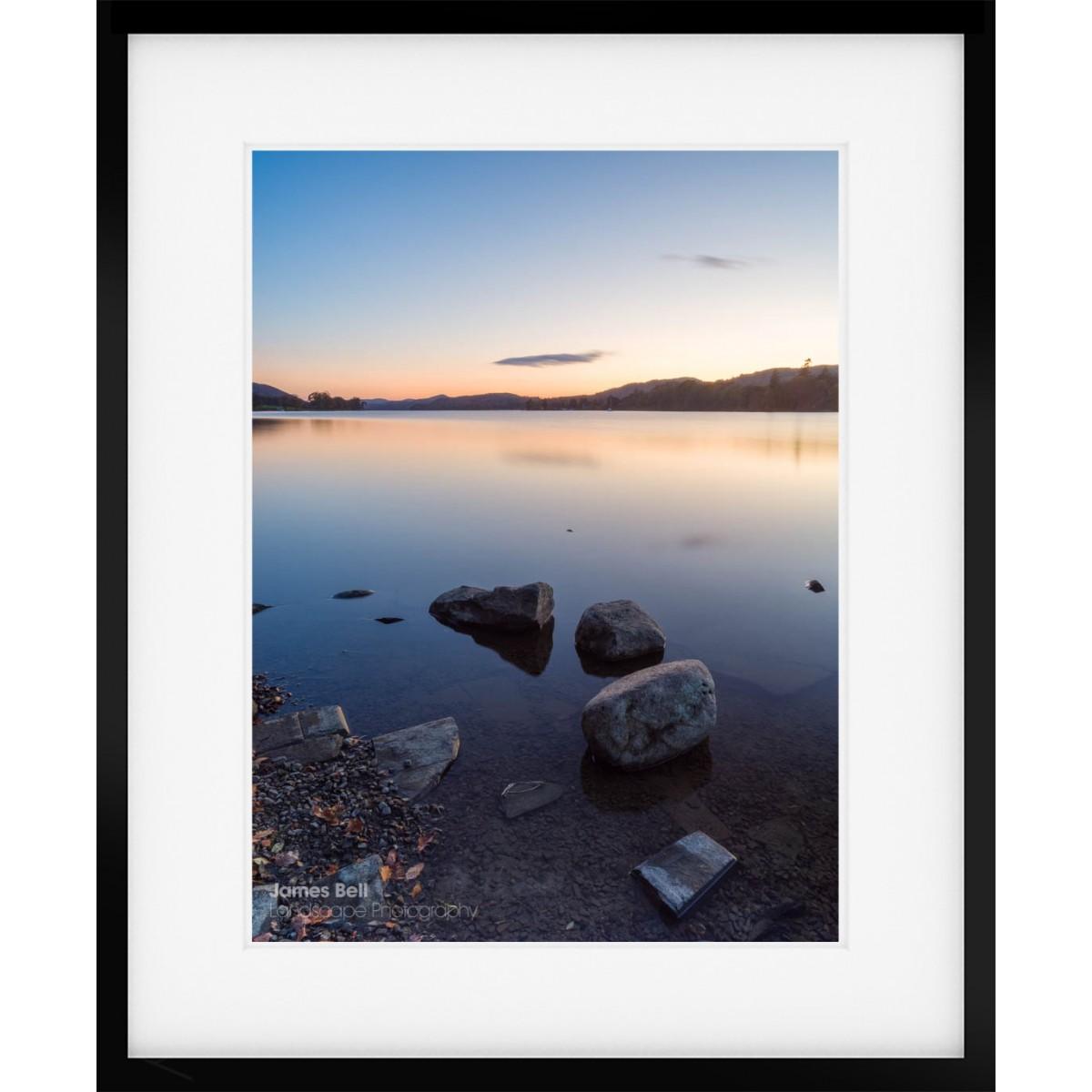 Coniston Twilight II framed print