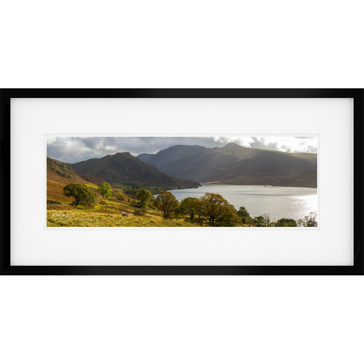 Crummock Water View framed print