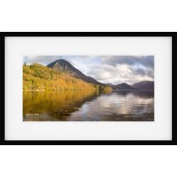 Grasmoor View framed print