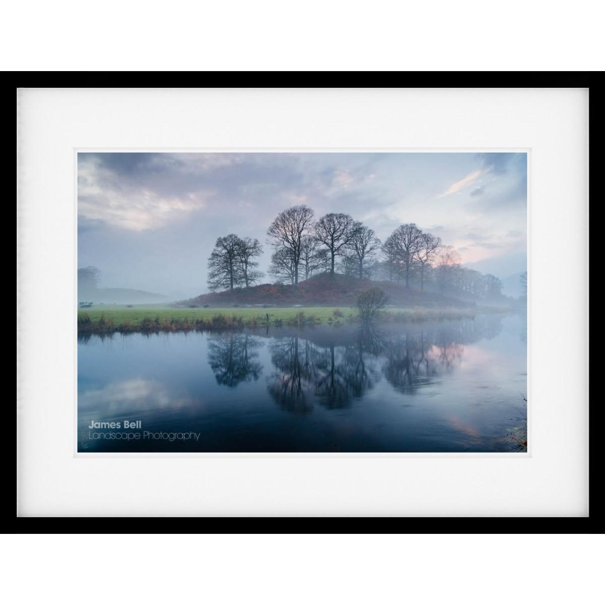River Brathay Sunset framed print